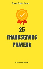 25 thanksgiving prayers
